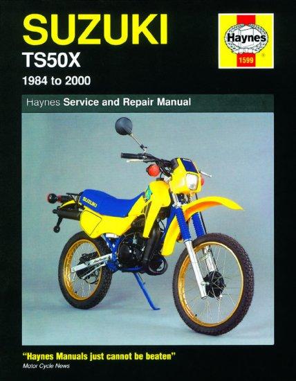 1599 Haynes Suzuki Ts50x  1984