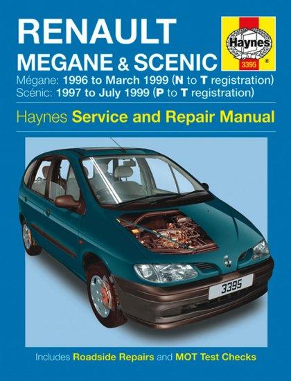 3395 Haynes Renault Megane And Scenic  1996