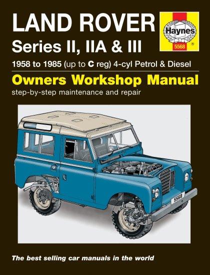 5568 Haynes Land Rover Series Ii  Iia  U0026 Iii  1958